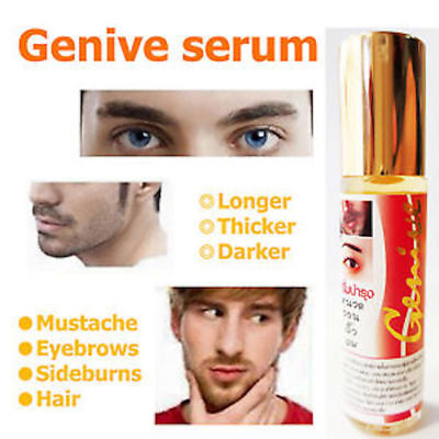 GENIVE LASH NATURE GROWTH SIMULATOR SERUM EYEBROW EYELASH LONGER THICKER 10 ml