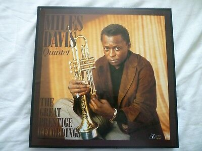 MILES DAVIS  Prestige Box Set, 10 LP´s 45rpm, Analogue Productions lim. Edition