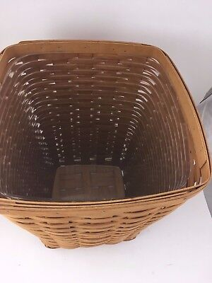 Longaberger PROTECTOR for Medium Waste Basket Protector ONLY