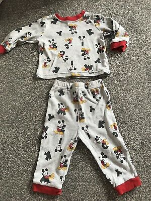 Babies 6-9months Mickey Mouse Pj Set