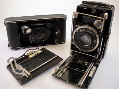 Two Zeiss Ikon Folding Cameras for Spares or Repair (Donata/Cocarette)