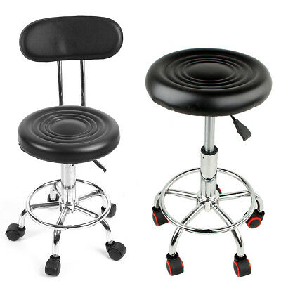 Backrest Salon Stool Massage Hairdressing Swivel Tattoo Spa Chair Hydraulic Lift
