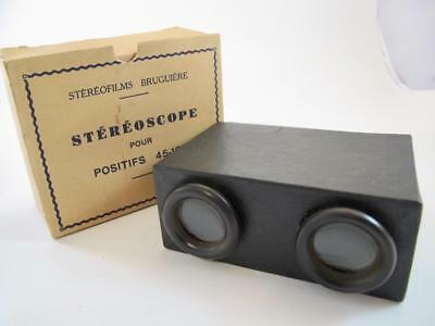 Bruguiere Stereoscope Viewer (Boxed)