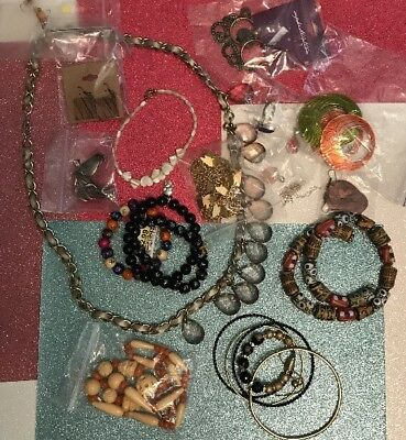 Vintage to Now Estate Jewelry Lot NEW, Sterling Silver & Fashion PCs #3 Of 30