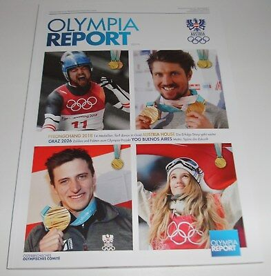 Olympia Report - Pyeongchang 2018 Winterspiele - Österreich  Offizielles Magazin