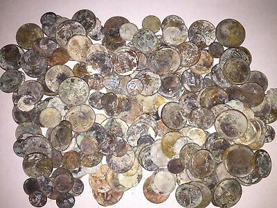 LOT OF 250 ANCIENT OLD RARE COINS FROM JERUSALEM THE HOLYLAND ISRAEL Not clean