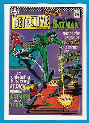 Detective Comics #353_July 1966_Vg_The Flash_The Weather Wizard_Silver Age!