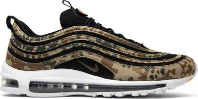 differently c6f1f 0709a NIKE AIR MAX 97 Country Camo Pack Germany QS Premium AJ2614-204 Authentic