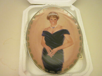 Bradford Exchange Diana plate Very Special Princess of Wales Queen of our Hearts