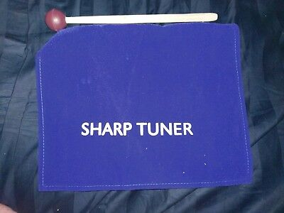 Sharp Tuner; Tuning Forks C#, D#, F#, G#, A#