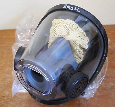 SMALL Nice Scott AV3000 Face Piece/Mask Assemby SCBA PRO CLEANED & DISINFECTED!