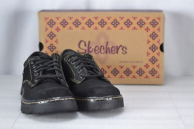 53746f713993 WOMEN S SKECHERS PARTIES-MATE Oxford Shoes Black -  31.49