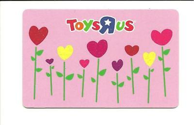 Toys R Us Flower Hearts Gift Card No $ Value Collectible ToysRUs