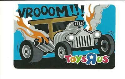 Toys R Us Hot Rod Vrooom!!! Gift Card No $ Value Collectible ToysRUs