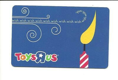 Toys R Us Wish Candle Gift Card No $ Value Collectible ToysRUs