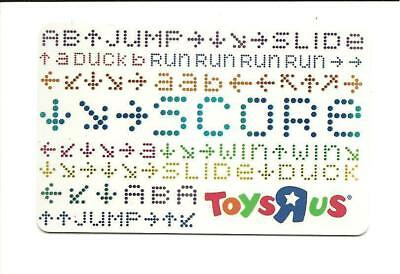 Toys R Us Jump Score Slide Duck Run Gift Card No $ Value Collectible ToysRUs