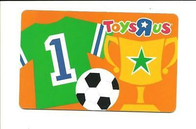 Toys R Us Sports Soccer Ball Victory Cup Gift Card No$ Value Collectible ToysRUs