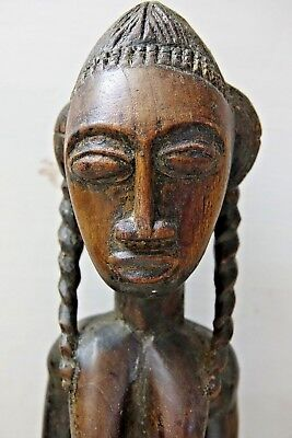 Very Interesting Large Old African Tribal Fetish Figure - Extremely Rare - L@@k