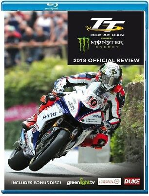 TT 2018 - OFFICIAL REVIEW - ISLE of MAN Tourist Trophy 2x BLU-RAY Region Free