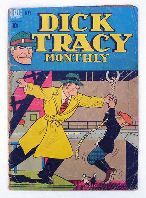 Dick Tracy Monthly #5 1948 Dell Comic Chester Gould