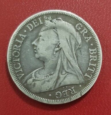 Great Britain Half Crown 1901 Very Nice Example of This 117 year old coin