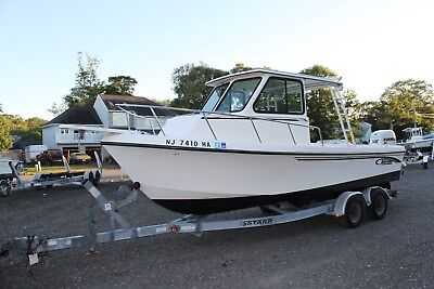 2006 May Craft 2300 Pilot House fishing boat Clean Title LOW RESERVE maycraft 06