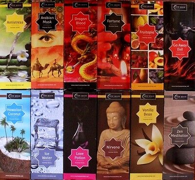 20 200 400 ,12 SCENTS Bulk Pack NEW MOON Incense Sticks CHOOSE MIX New Age Wicca