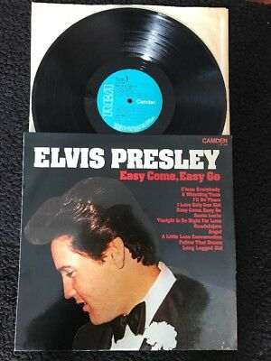 Elvis Presley - Easy Come Easy Go (A Little Less Conversation) Vinyl LP CDS 1146