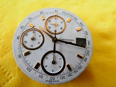 Longines Chronograph L685.2 ETA 2892-2 movement working voll funktion (W405)