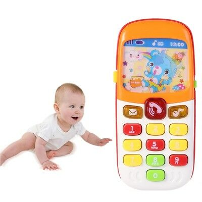 Cartoon Music Phone Baby Toys Electronic Educational Learning Toy Gift for Kids