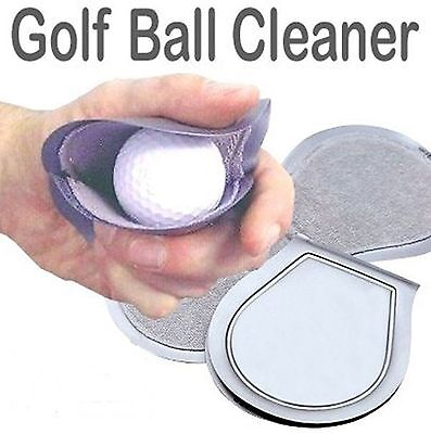 1 ONLY GOLF BALL CLEANER - Wet inside but Dry in your Pocket,.