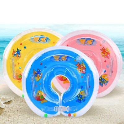 Newborn Float Swimming Neck Ring Baby Neck Bath Safety Aid Circle Float Toy