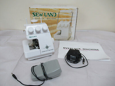 Sew Land Overlock Machine SM-1091 Boxed with Instructions