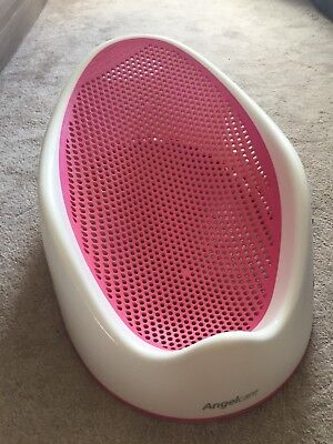 Angelcare soft touch bath seat - pink