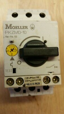 Moeller Pzmo-10 6.3A - 10A 3 Phase Rotary Starter/overload *crazy Price*
