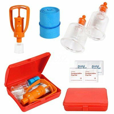 First Aid Tool Box LIVABIT Emergency Venom Snake Bee Bite Extractor Pump Outdoor