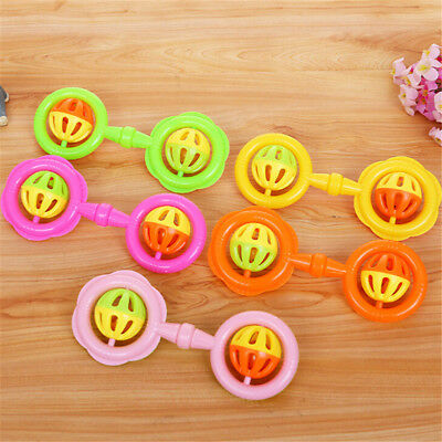1PC Infant  Cute Bell Rattles Toy New  Hand Play Toys GiftNQZY