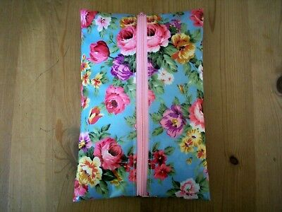 Handmade Baby Wet Wipes Travel Case Holder Shabby Chic Oilcloth