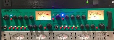 JoeMeek Twin Qcs Dual Mic Preamp Optical Compressor