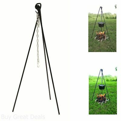 Tripod Campfire Camp Oven Cooking with Bag Sturdy Aussie Made Aussie Tough