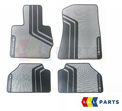Bmw New Genuine X3 X4 F25 F26 M Performance Rubber Floor Mats Lhd Front + Rear