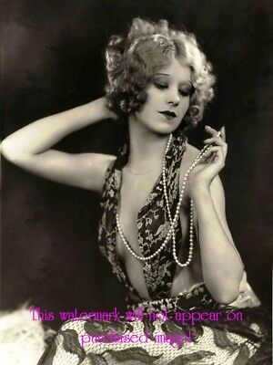 Old HOLLYWOOD STARLET VINTAGE Antique FLAPPER GIRL Photo Photograph Reprint