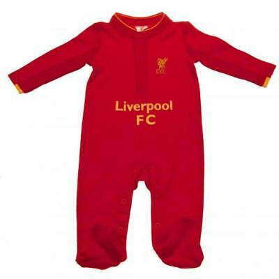 Liverpool FC Babies Sleepsuit 12 To 18 Months Baby Shower Gift (GD)