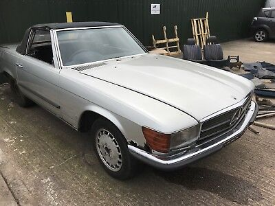 classic mercedes sl 280 BARN FIND Restoration Project or Ideal Donor Car