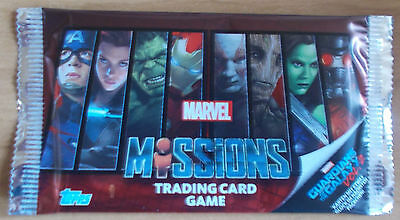 Marvel MISSIONS - 5 Trading Card