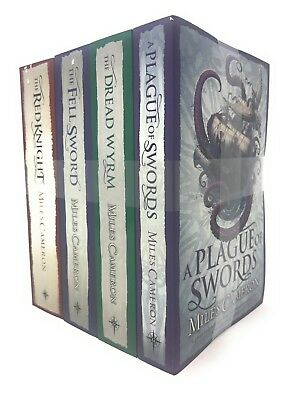 Miles Cameron 4 Books Set Collection, Plague Of Swords, Dread Wyrm, Red Knight..