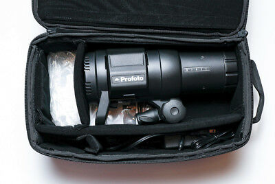Profoto B1 500 AirTTL battery monolight w/Remote and modifiers - used ONCE!