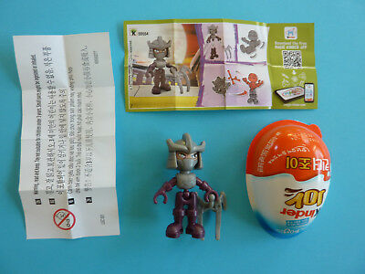 Ü-Ei Figuren aus Südkorea / Kinder Joy / Teenage Mutant Tinja Turtles + BPZ