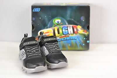 Youth Boy's Skechers S Lights HypnoFlash- Tremblers Sneakers