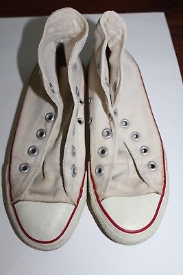 eff7b98c542c VINTAGE CONVERSE CHUCK TAYLOR ALL STAR Made in USA High Top Size 4 70s 80s
